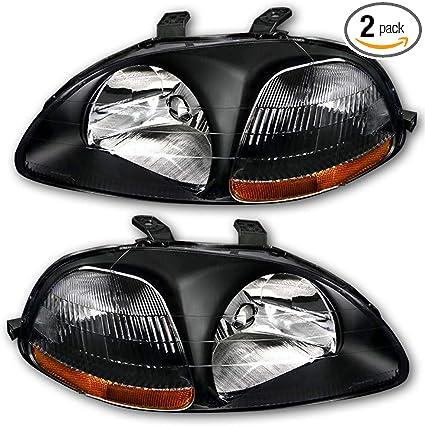 96 97 98 Civic R Right Passenger Side Front Light Beam Headlight Lamp OEM