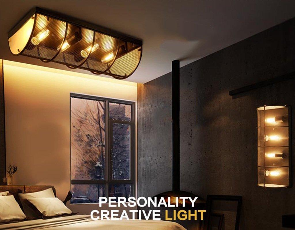 Plafoniere Industriali Diametro 30 : Home mall lampada da soffitto in ferro soggiorno ristorante bar