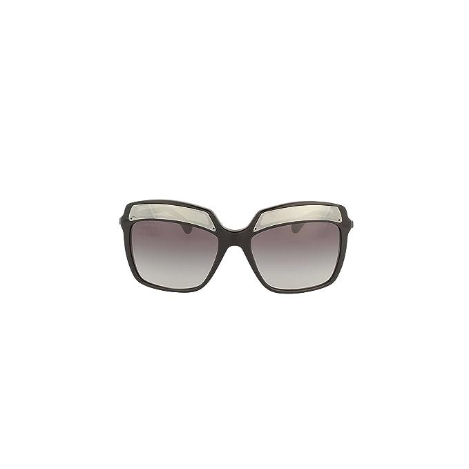 Chanel - Gafas de sol - para mujer negro negro/gris: Amazon ...