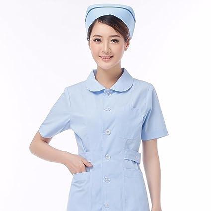 Xuanku Enfermera Doctor De Medicina Dental De Tiendas, Un Rosa Vestido De Manga Corta De Servicios De Atención De La Práctica De Servicios De Salud Belleza: ...