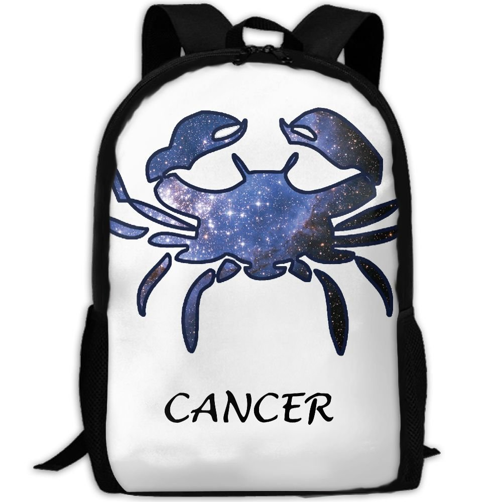 9897e6b459c3 Cancer Zodiac Star Luxury Print Men And Women's Travel Knapsack high ...