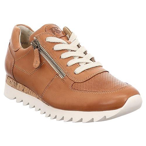 Paul Green Sneaker Damen, Cognac, Größe 42.5 | Paul green