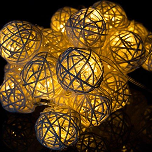 20 Led Fairy Lights Mains - 9