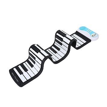 Juguete de Piano Silicón Flexible Teclado Eléctrico Portátil Piano Flexible para Principiante Niños: Amazon.es: Instrumentos musicales