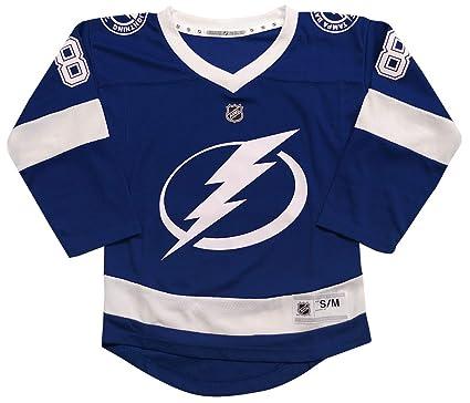 64d38d511249da Outerstuff Tampa Bay Lightning Andrei Vasilevskiy Youth NHL Replica Jersey ( Youth Small/Medium)
