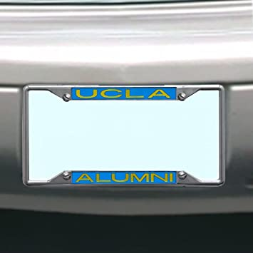 ncaa ucla bruins license plate frame alumni