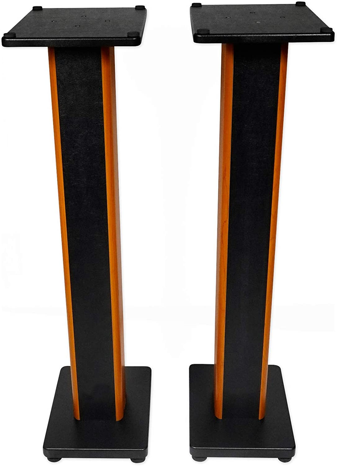 "Rockville 8 RHTSC 8"" Inch Bookshelf Speaker Stands Surround Sound Home  Theater"