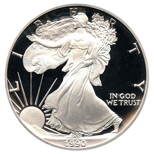1990 S American Eagle Dollar PR69 PCGS