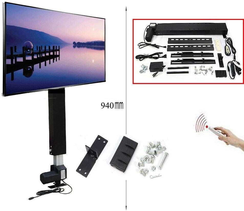 HYLH TV Soporte de Pared para automáticos Televisor con elevación Vertical motorizada para televisores de 26-57 Pulgadas: Amazon.es: Hogar