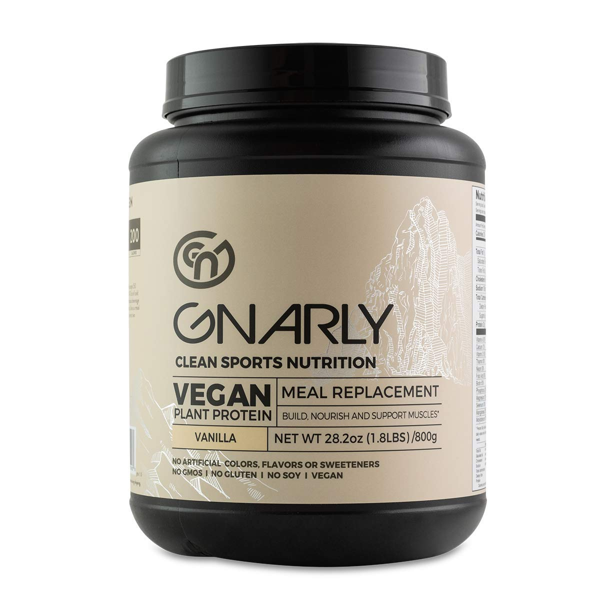 Gnarly, Meal Replacement Vanilla Vegan, 32 Ounce