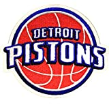 Official Detroit Pistons Logo Large Sticker Iron On NBA Basketball Patch Emblem