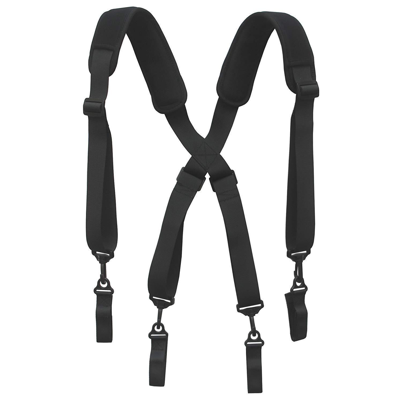 Men Paddded Adjustable Tool Belt Suspender Duty Belt Suspender Tactical Duty Belt Harness For Duty Belt