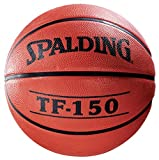 Spalding 022360 TF-150 Men's Basketball, Rubber, 29-1/2' Size