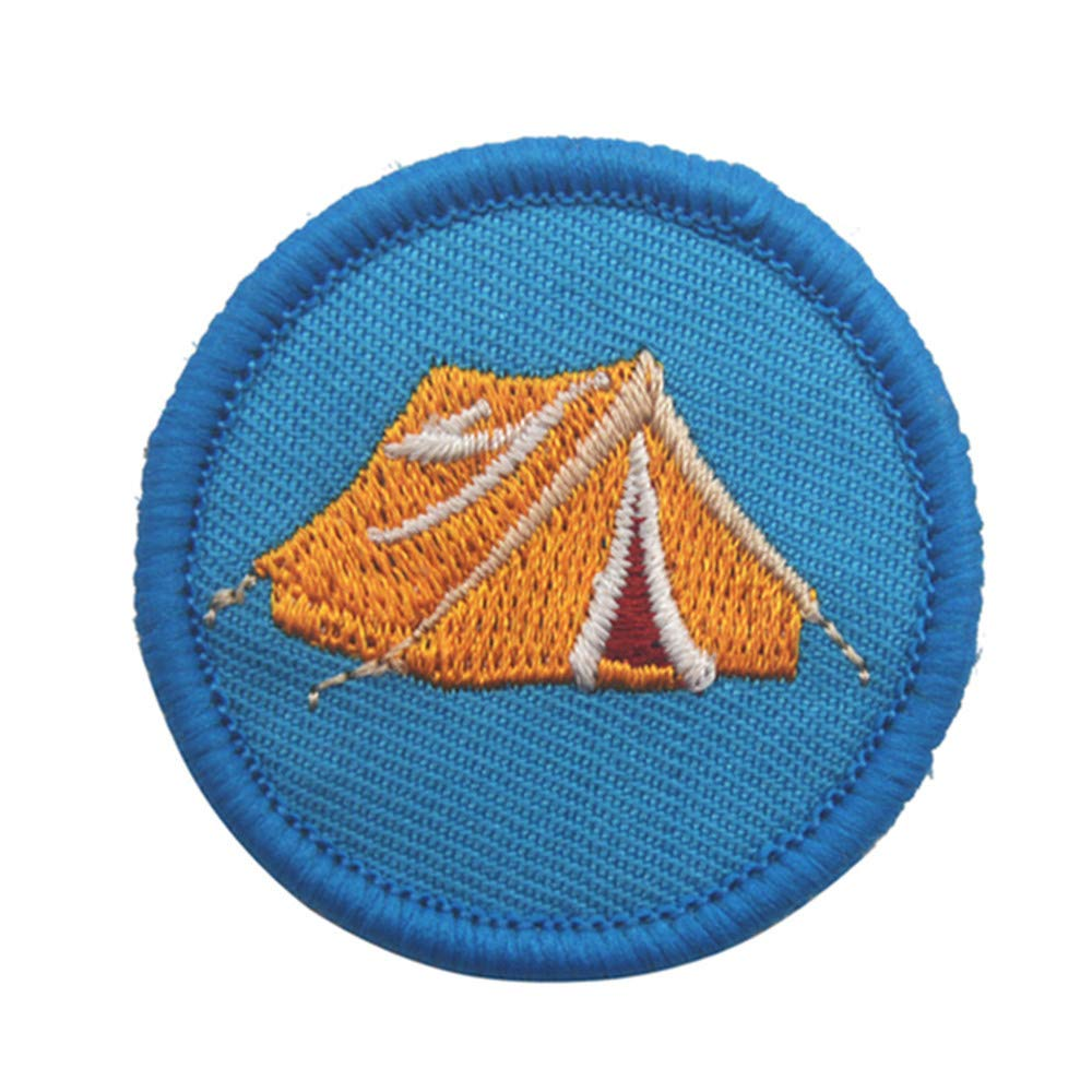 YA-Uzeun stile Boy Scout toppa termoadesiva fai da te Toppe adesiva ricamata per abiti a forma di bussola