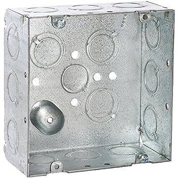 Raco 257 Box, 4 11/16 In Square