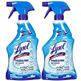 Lysol Power and Free Bathroom Cleaner, Fresh, 22 Ounce (Pack of 2)