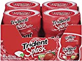 Trident Splash Strawberry with Lime Sugar Free Gum - 4 Packs (160 Pieces Total)