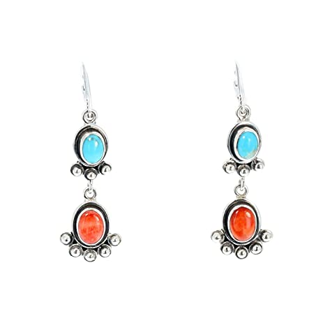 dettagli per miglior sito web primo sguardo Spiny Oyster e turchese orecchini FRIDA Kahlo Inspired ...