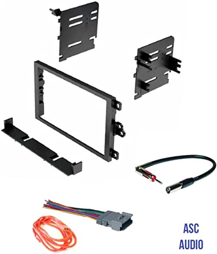 ASC Audio Car Stereo Dash Kit, Wire Harness, and Antenna Adapter to on 1987 chevy dash harness, chevy suburban wire harness, 1971 chevelle dash harness, dash radio, 1967 chevrolet van dash harness, 99 firebird dash harness, dash gauges,