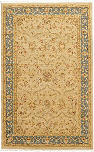 - Unique Loom Edinburgh Collection Oriental Traditional French Country Champagne Area Rug (5' 0 x 8' 0)