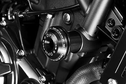 Yamaha/ /Schwarz Matt/ /paratelaio in Aluminium-einfache Installation/ /Zapfen Warrior/ /Zubeh/ör de PRETTO Motorrad DPM / /100/% Made in Italy FZ8 2010//15 mattschwarz
