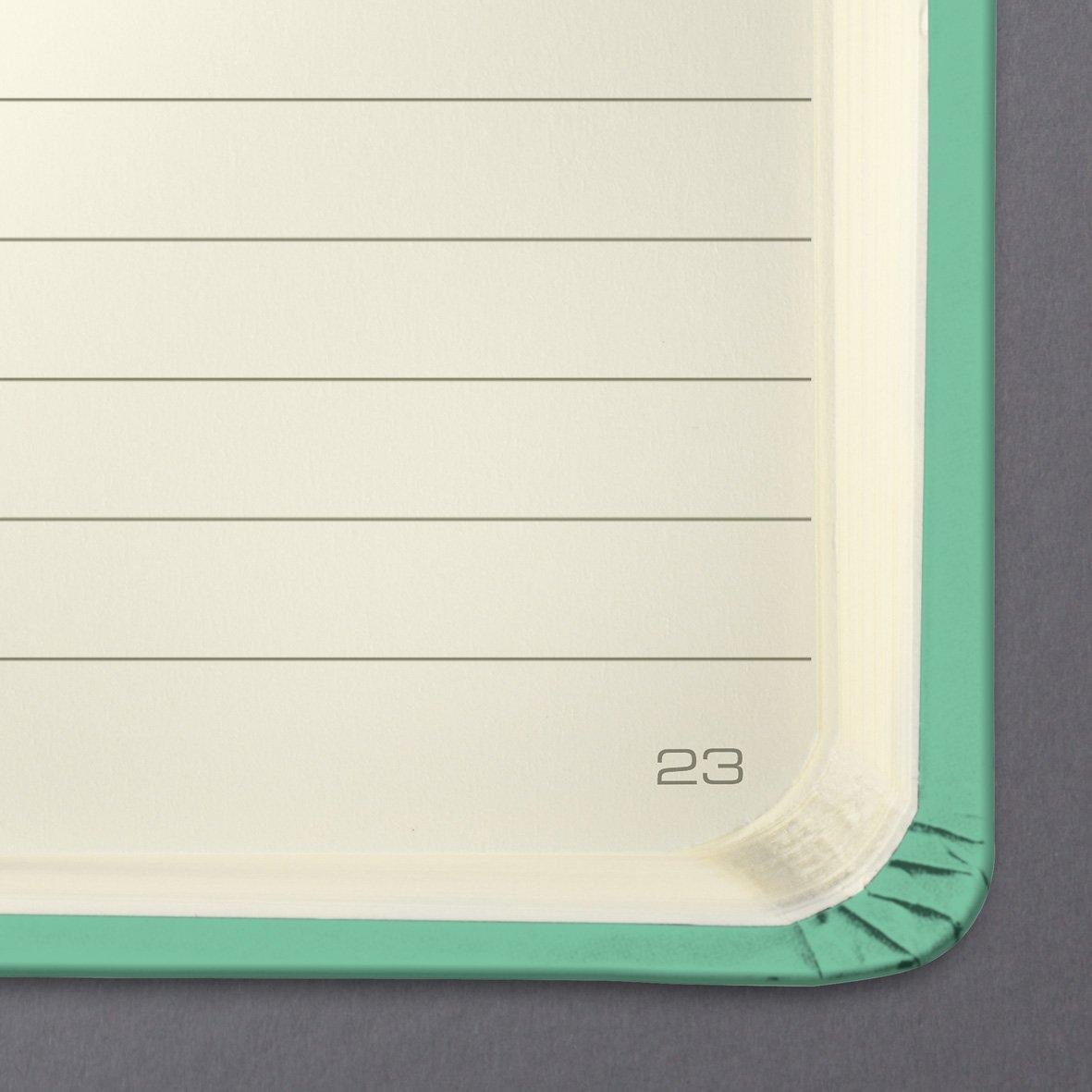 copertina rigida SIGEL CO569 Taccuino Conceptum circa A6 verde mela 194 pagine a quadretti