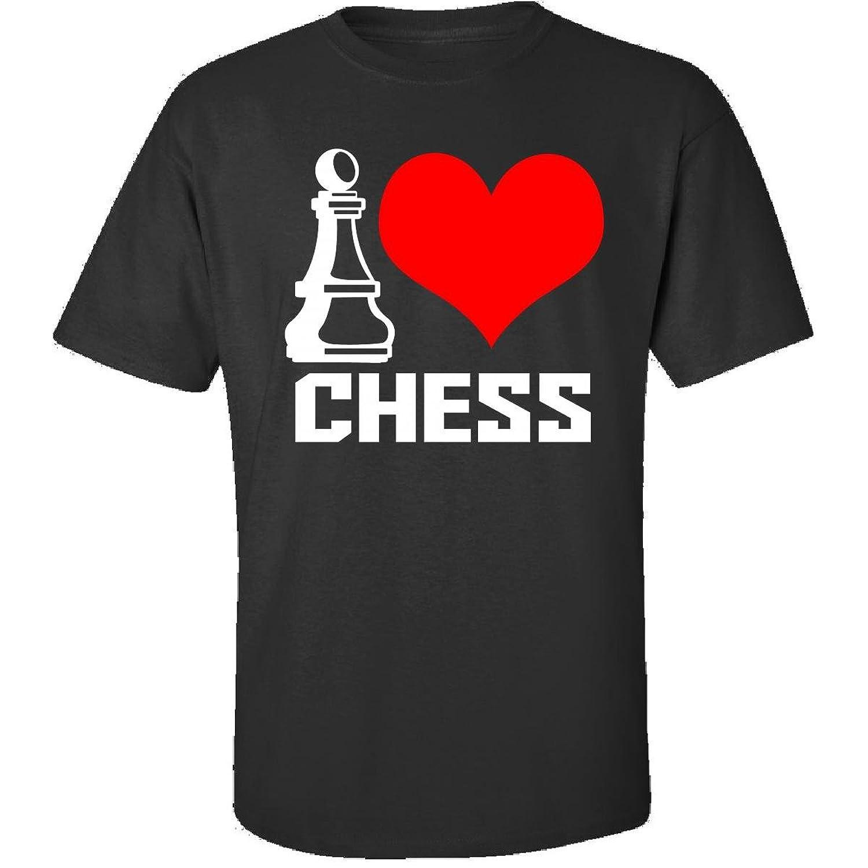 I Love Chess - Adult Shirt