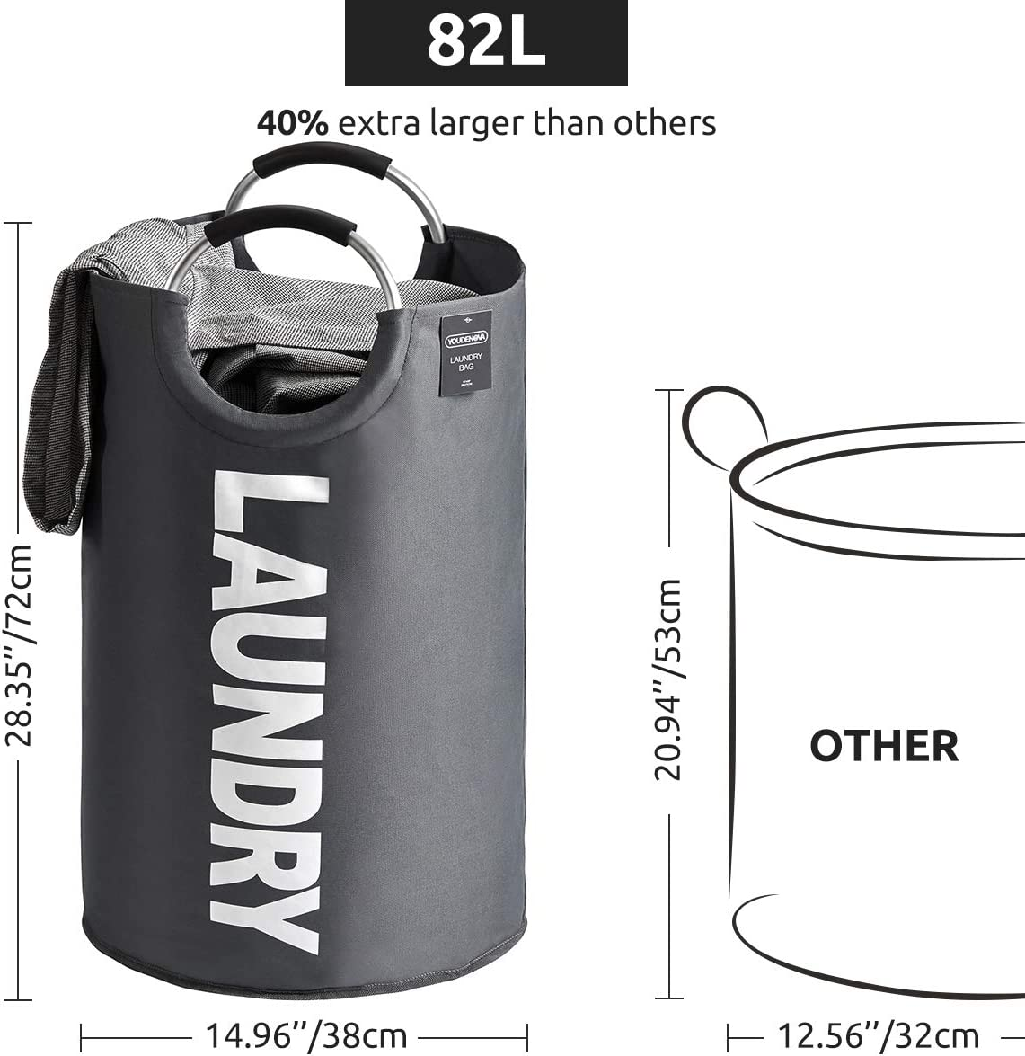 collapsible laundry hamper