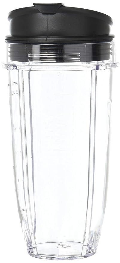 24 oz vasos para Tritan Nutri Ninja Auto IQ Series batidoras xsk2424 con tapas Sip &
