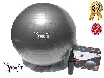 yoofit deportes bola de la estabilidad con bomba - PREMIUM pelota ...
