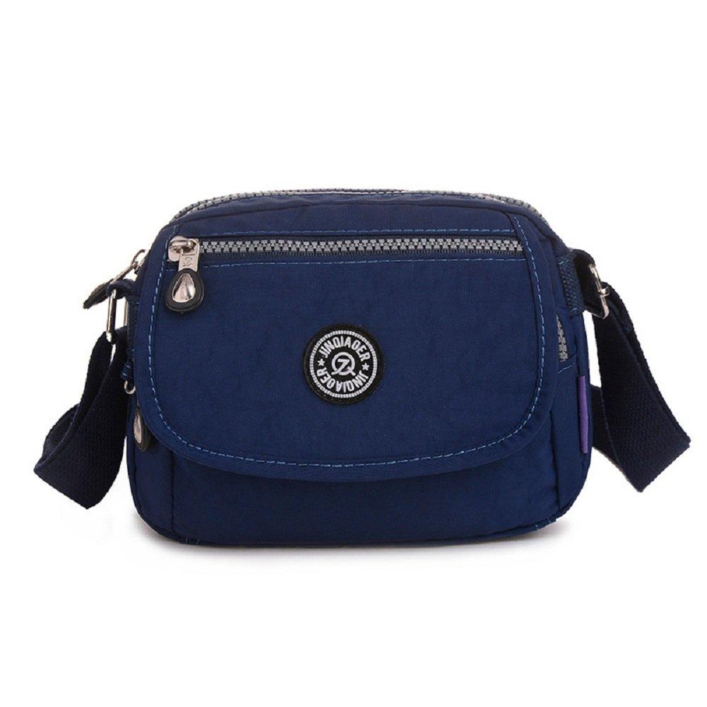 Urmiss Mini Waterproof Travel Lightweight Shoulder Bags Small CrossBody Bag Cellphone Purse for Men and Women