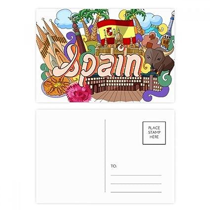 DIYthinker Prado Mariscos España Graffiti tarjetas postales ...