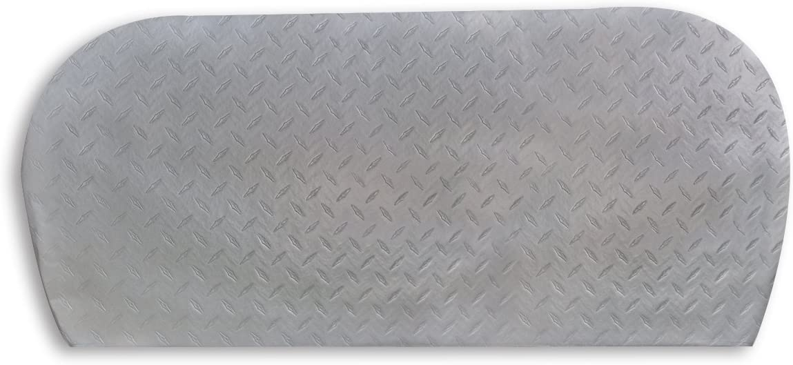 ADCO 3783 Silver Multi Axle Triple Diamond Plated Steel Vinyl Tyre Gard Wheel Cover Fits 27-29