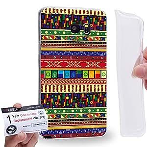 Case88 [Samsung Galaxy Note 5] Gel TPU Carcasa/Funda & Tarjeta de garantía - Art Aztec Carpet Tarot A Art2584