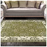Superior Stratton Collection Area Rug, 8mm Pile Height with Jute Backing, Luxurious French Traditional Aubusson Rug Design, Fashionable and Affordable Woven Rugs – 4′ x 6′ Rug Review