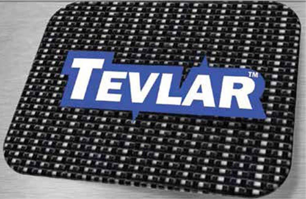 good for covering Asphalt 7 x 30 TEVLAR Pro Grade Black Mesh Truck and Trailer Tarp