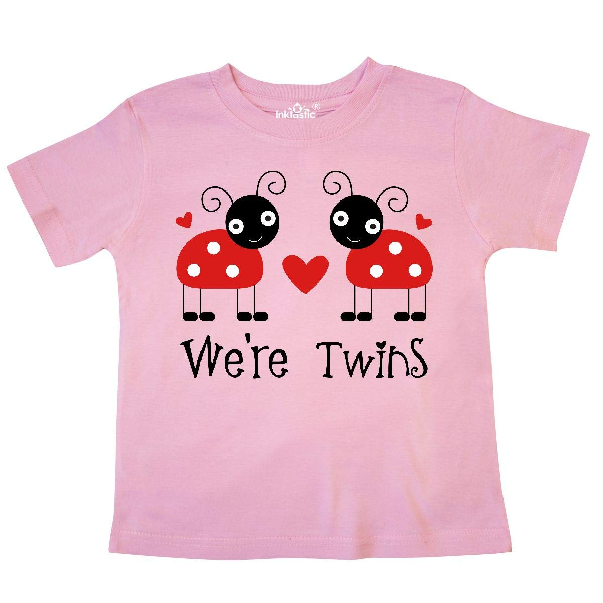 inktastic Were Twins Ladybug Toddler T-Shirt