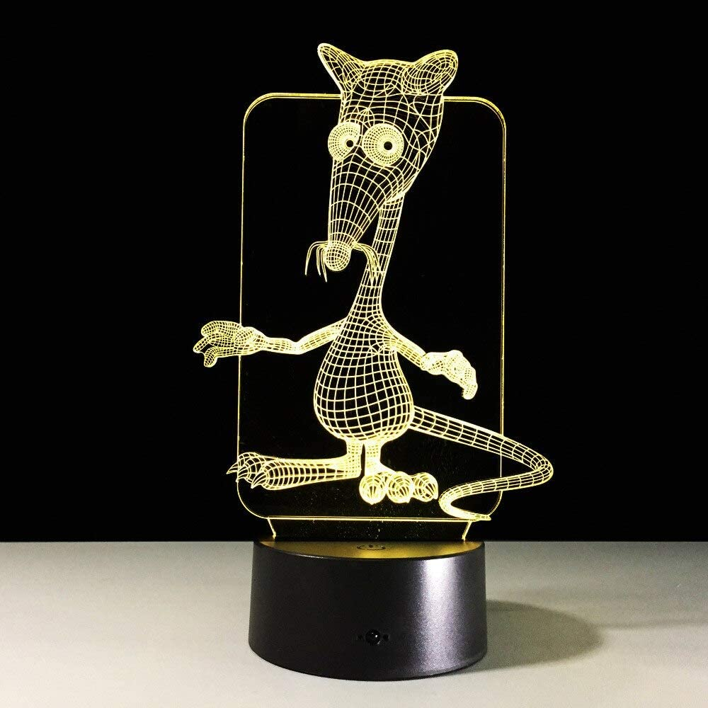 Símbolo Animal del Zodiaco Luces Animales Color Luz Nocturna Ratón Vaca Tigre Conejo Longma Cabra Perro Cerdo Regalo Creativo