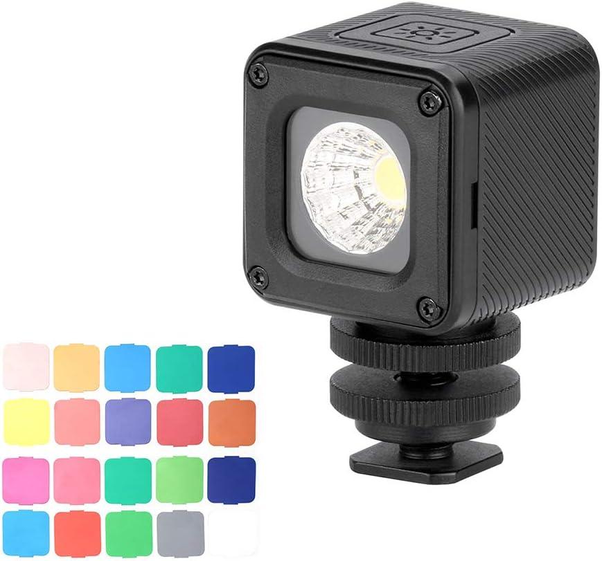 Toptoo Ulanzi L1 Pro Vielseitiges Wasserdichtes Dimmbares Mini Led Videolicht 5500k Mit Fülllicht Cri 95 Und