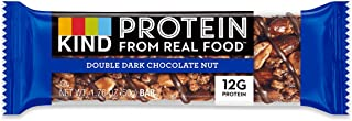 product image for KIND, PRTN BAR, DBL Dark CHOCLTE, Pack of 12, Size 1.76 OZ - No Artificial Ingredients Gluten Free Wheat Free Yeast Free