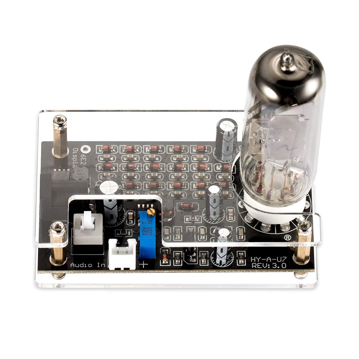 Douk Audio Magic Eye 6E2 EM87 Preamp Tube Level Indicator VU Meter Driver Board