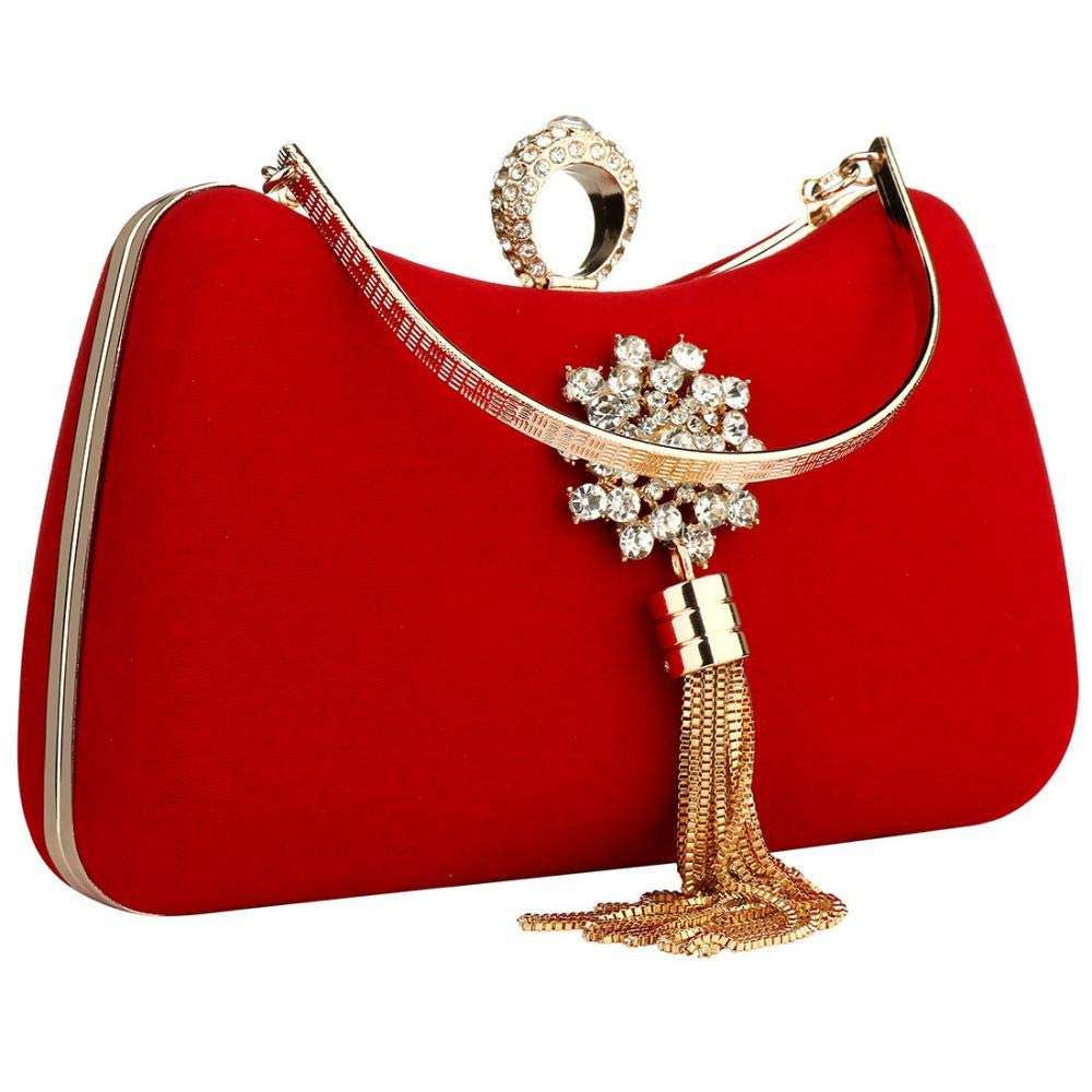 Evening Bag With Flower...