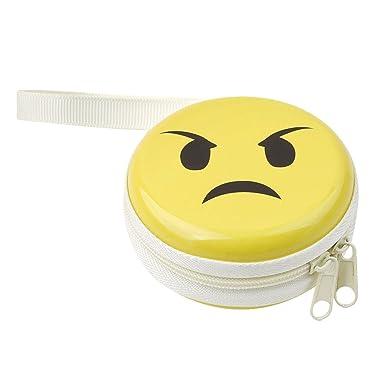 Ch Emoji Monedero Keys Bolsa de auriculares tipo cartera ...