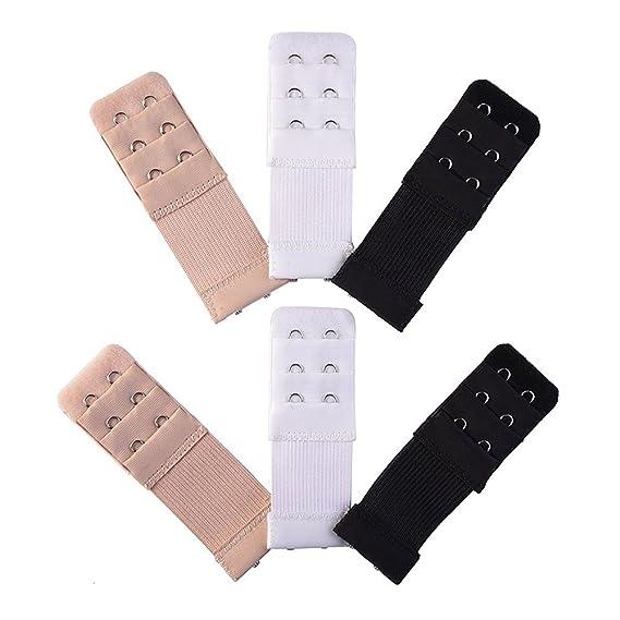 Juanya - Extensores de sujetador - para mujer 3 color Talla única: Amazon.es: Ropa y accesorios