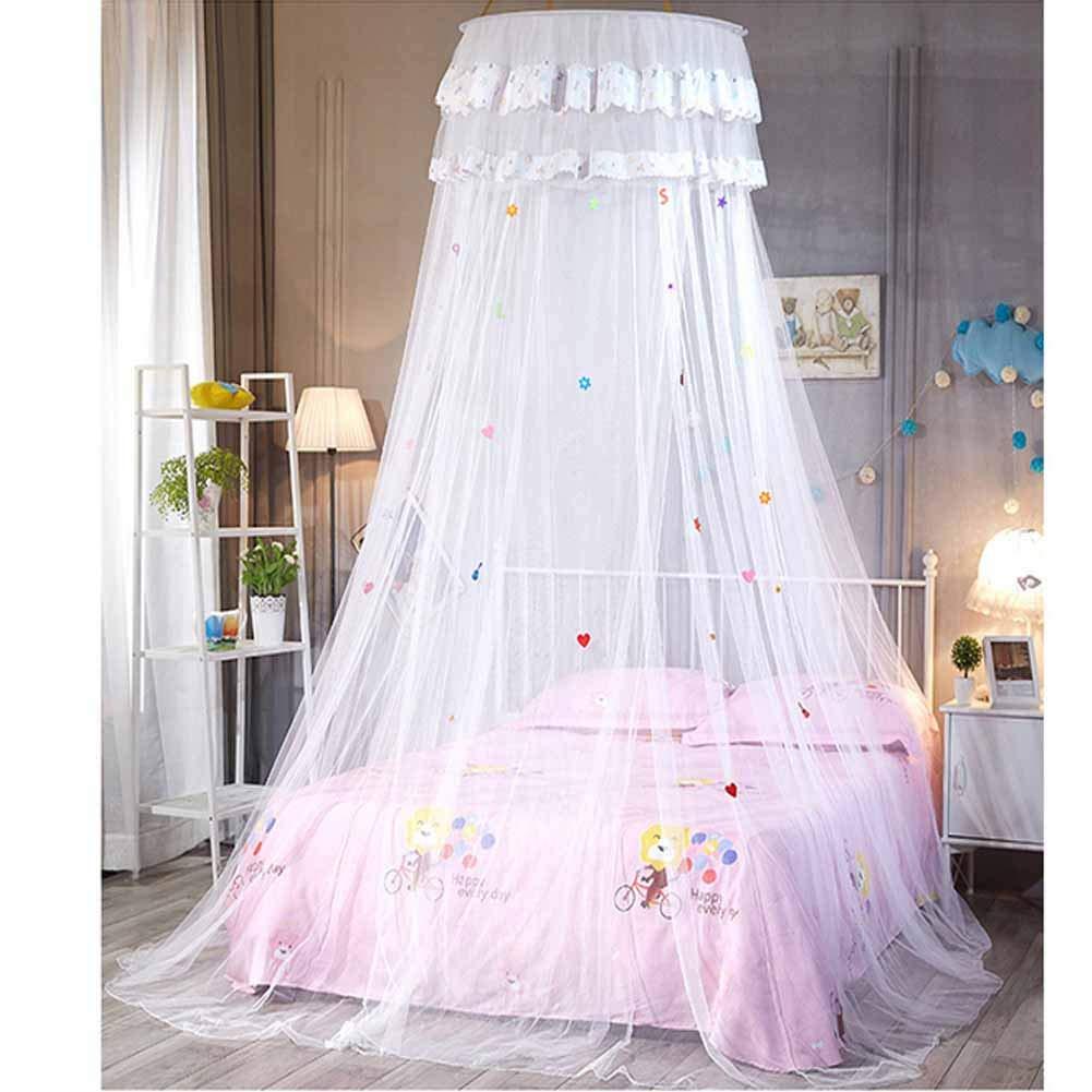 POPPAP Dream Tent for Kids Girls Bed Canopy White