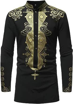 Fensajomon Men Military Button Up Basic Cotton Short Sleeve Pockets Dress Shirts