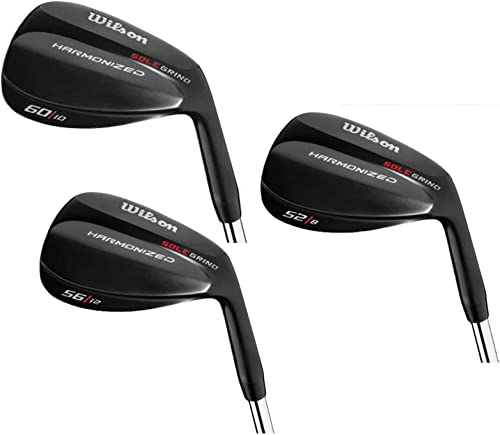 Wilson Golf Harmonized SG Black Chrome 3-Wedge Set
