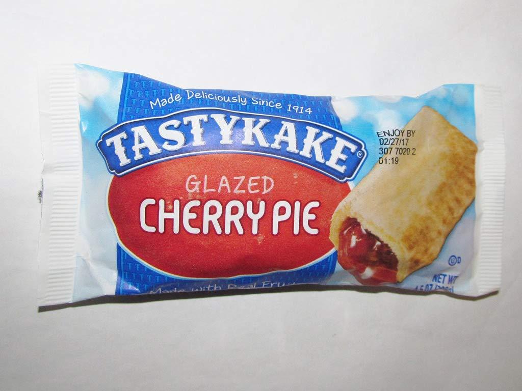 Tastykake Glazed Pies - Pack of 4 (Cherry) by Tastykake