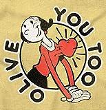 Brisco Brands Popeye Olive OYL You Too Cute Funny