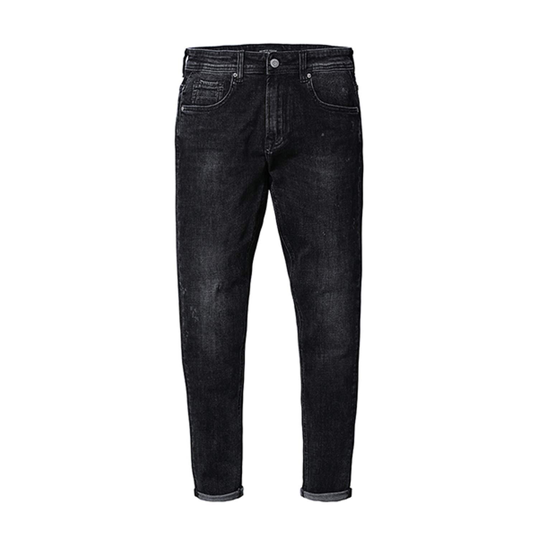 Glittering time 2019 Mens Jeans SkinnyHot Sale Casual Denim Pants,Black,31